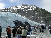 Cruising on the MV Ptarmigan to Portage Glacier, Alaska.